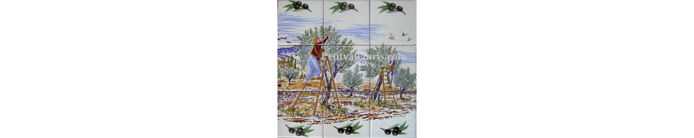 fresques murales interieures et