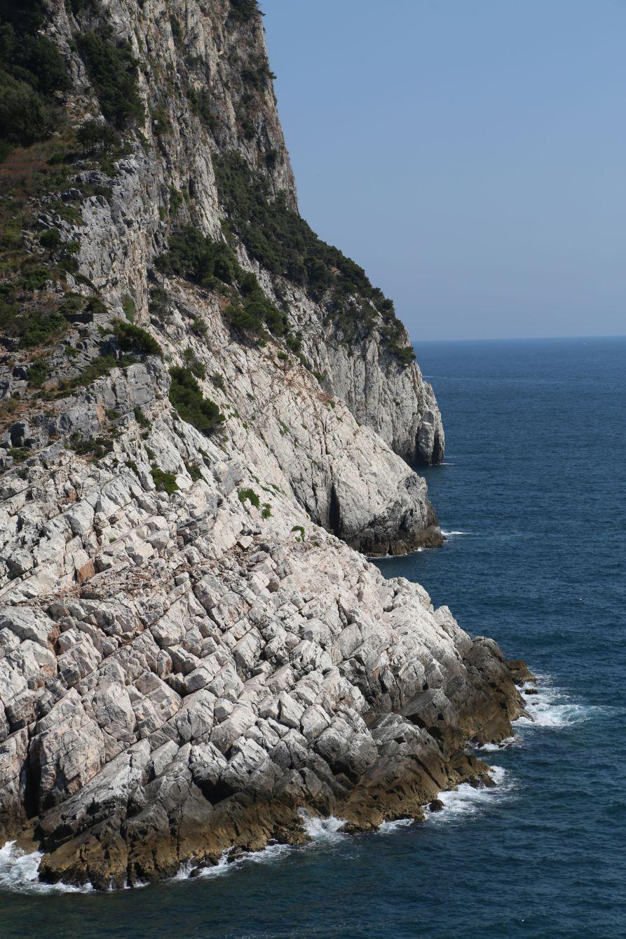 Cliffs at Portovenere