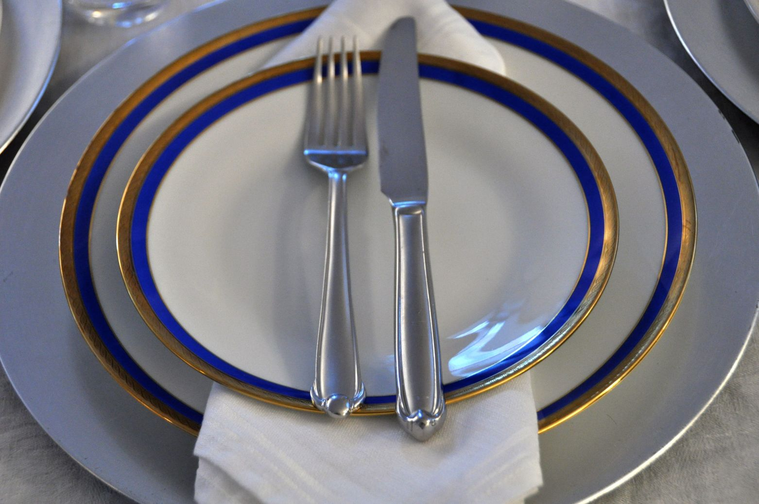 Place Setting for Dinner