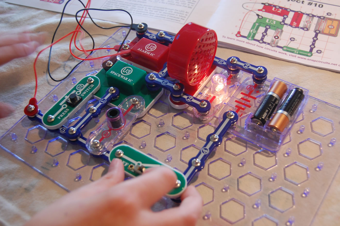 Cool Electronic Snap Circuit Kit One Kid39s Blogging Adventure