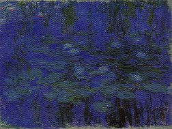 Claude Monet - Blue Water Lilies2 copy