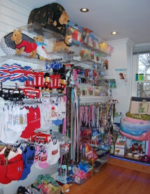 The Showroom is always full to the brim with pet goodies