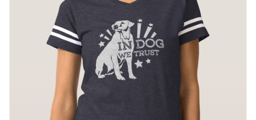 Dog Lovers Shirts and Tees. In Dog We Trust Graphic shirts. Featured Dog Lover Apparel.