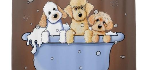 Dog Lover Shower Curtains