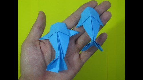 small resolution of origami fish koi how to make origami fish koi