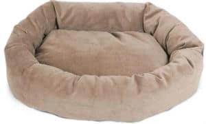 majestic-pet-suede-bagel-dog-bed