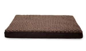 Furhaven Nap Pet Bed Egg Crate Orthopedic Pet Mattress