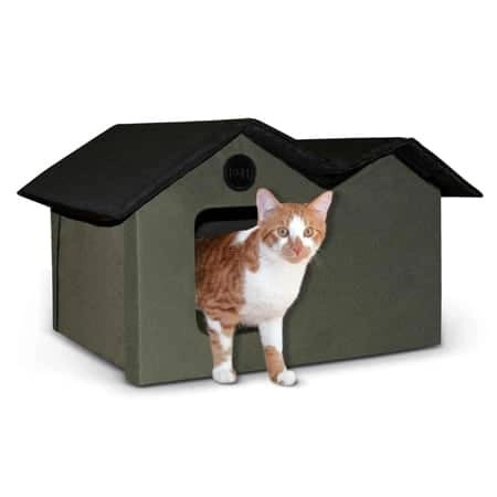 Kh Manufacturing Outdoor Extra Wide Kitty House