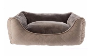 Top Paw Quilted Cuddler Dog Bed