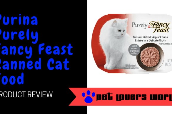 Purina Purely Fancy Feast Canned Cat Food Product Review
