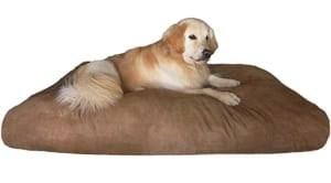Dogbed4less Jumbo Extra Large Memory Foam Dog Bed