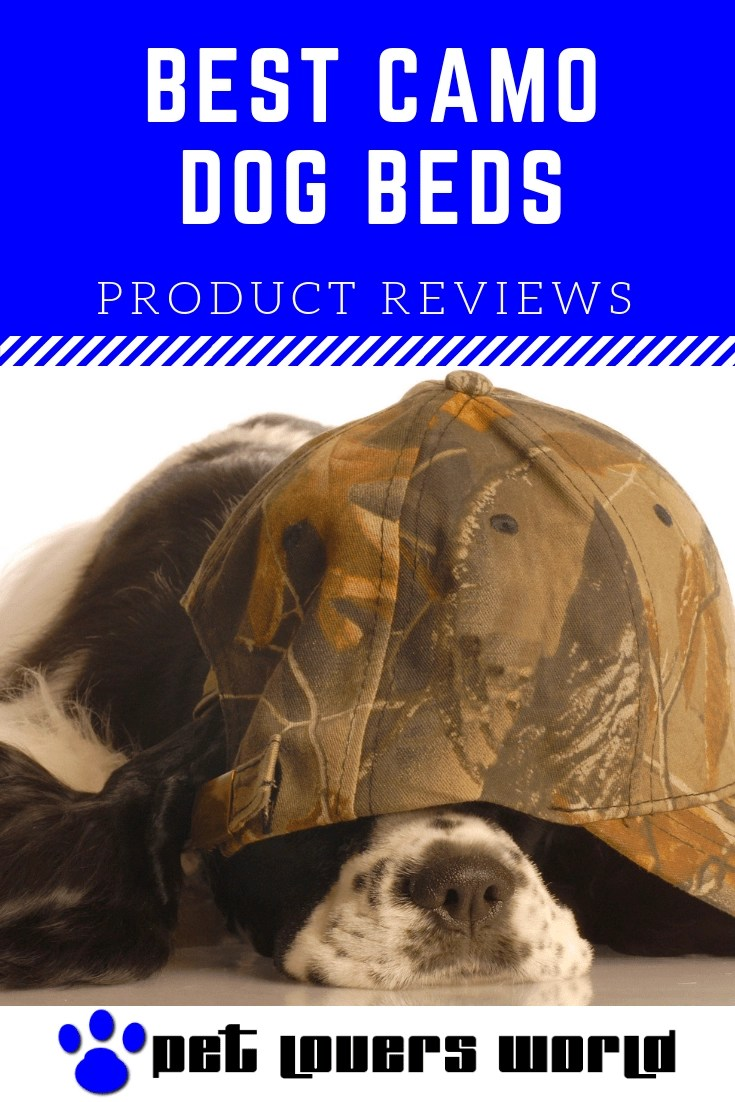 Best Camouflage Dog Bed Reviews Pinterest Image