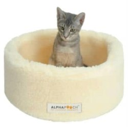 Siesta Round Fleece Cat Bed