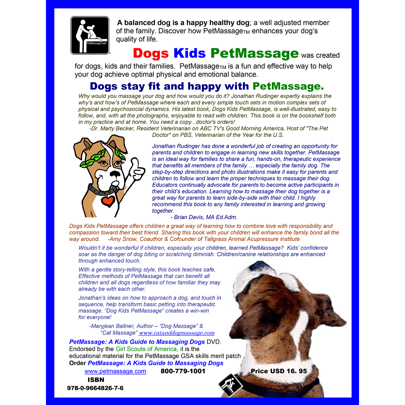 Dogs Kids PetMassage™ / Dog Massage for Kids [Book] · PetMassage ...