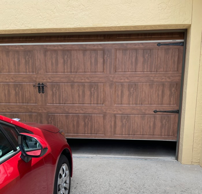 If you leave your garage door slightly raised, your lost pet will have shelter until you notice it has returned home
