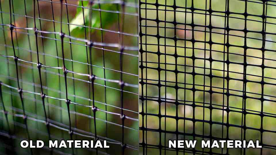 new dog fence material