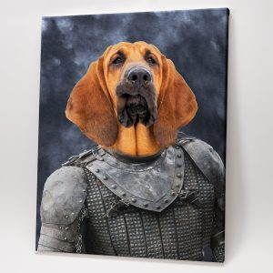 Game of Pets Portrait – The Hound