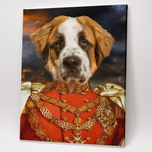 Royal Pet Portrait – The Red King