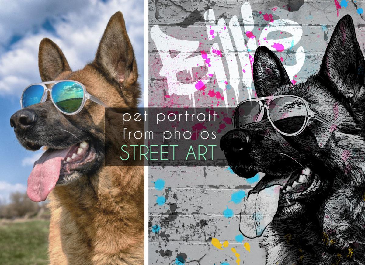 Custom dog graffiti Custom graffiti Pet Portrait grunge pet portrait Splatter Art portrait Graffiti Art portrait street style dog