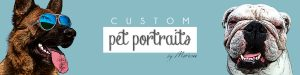 Custom pet portraits by marion