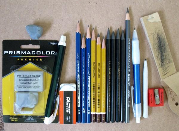 Art Supplies Drawing