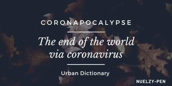 definition of coronapocalypse