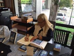Eintrag ins Gästebuch der Stadtbücherei Soest