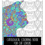 New Adult Coloring Book for Cat Lovers