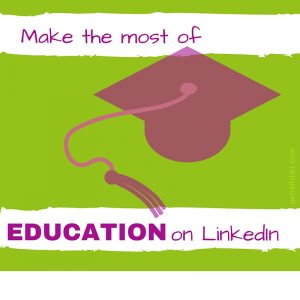 education-linkedin-profile-tip-petra-fisher-trainer-expert