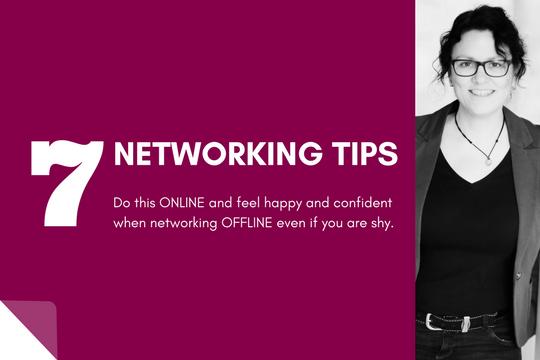 7 LinkedIn Networking Tips: Combine Online and Offline.