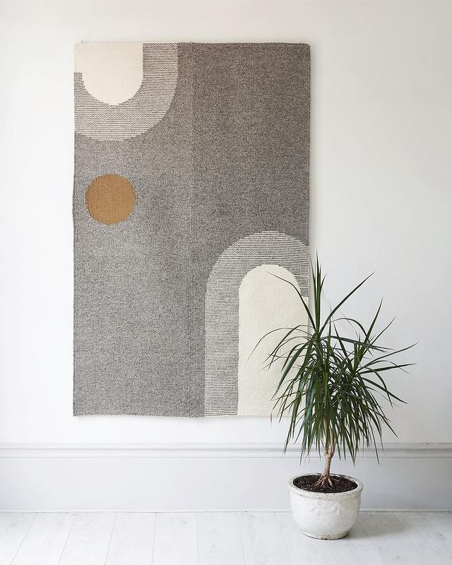 Tapestry rug from Christabel Balfour