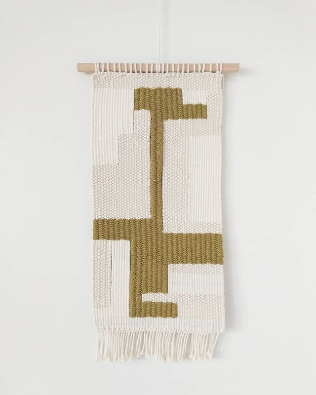 Modern Tapestry_helena transcoso textiles wallhanging