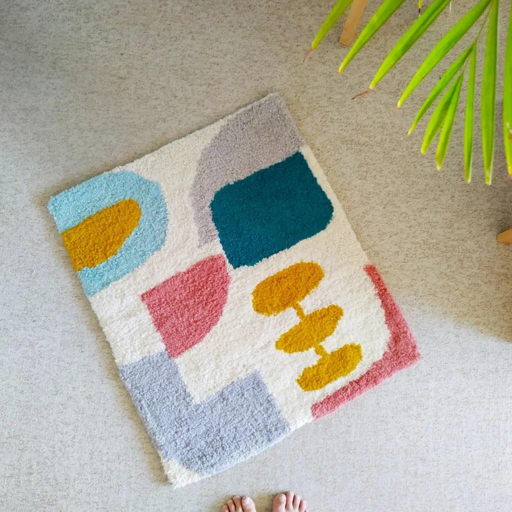 7 ways to make a rug_Tufted rug_rugmaking__petramarciniaktextiles