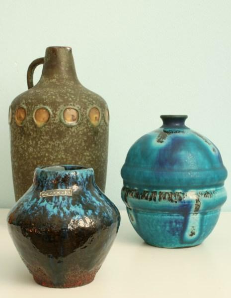 Ceramano group of vases