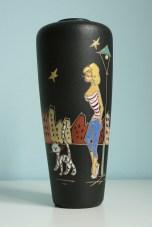 """Ruscha vase """"Paris"""""""