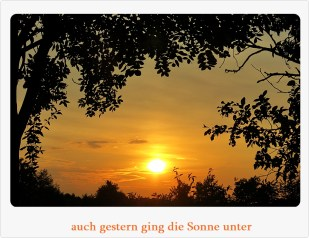 19-August Sonnenuntergang *home*