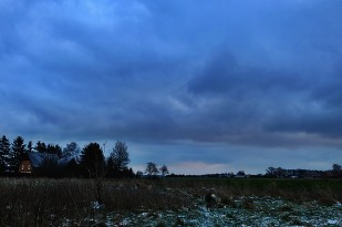 17-Januar kalt und windig...