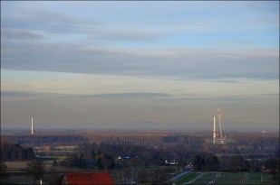 19-Januar oben beim Funkturm, nachmittags