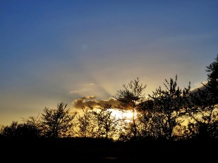3-Mai Sonnenuntergang