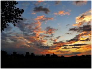 24-Juni ganz früh- DRAMA-Himmel (nach starken Gewittern)