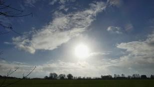 11-Dezember nur einmal guckte kurz die Sonne raus