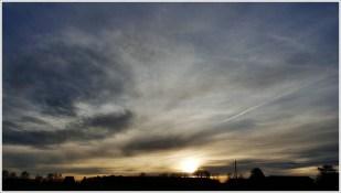 23-Dezember `HOME* - Sonnenuntergang