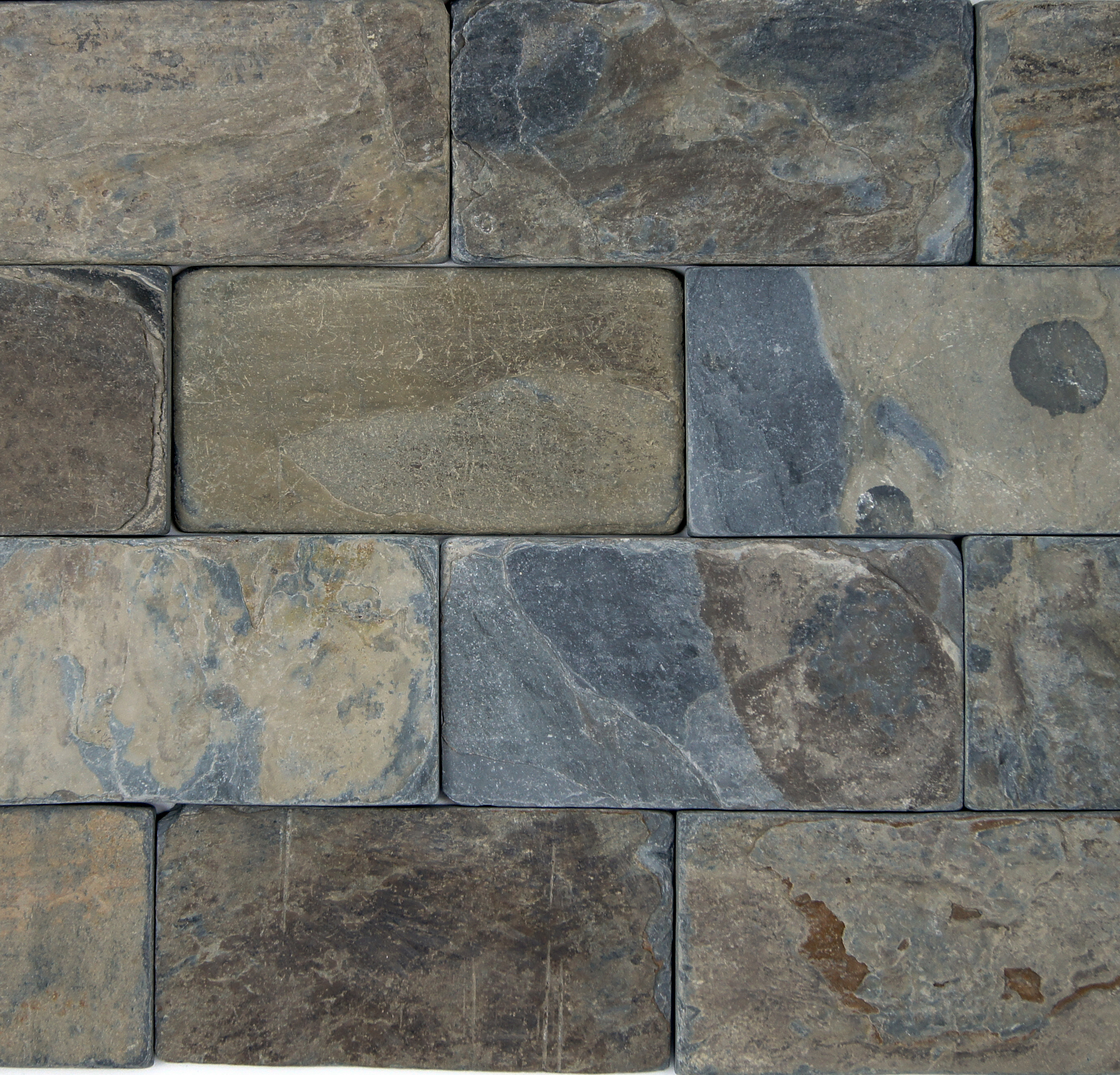California Gold  Tumbled  PetraSlate Tile  Stone is a