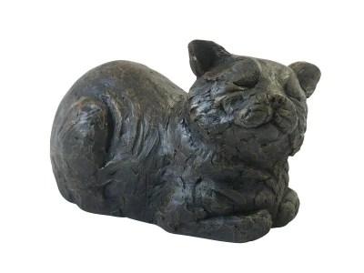 Contented Cat Urn