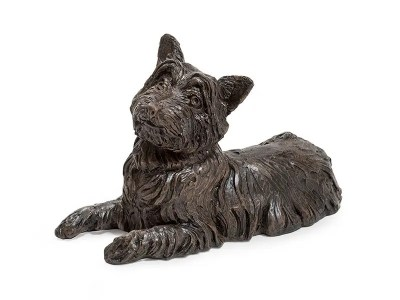 West Highland Terrier Urn