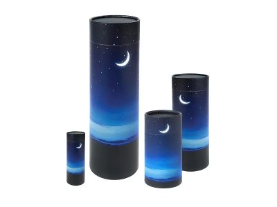 Scatter Tube Starry Night Design