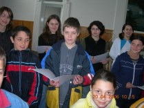 Botosani - baptisti - cor copii - aprilie 2006 (2)