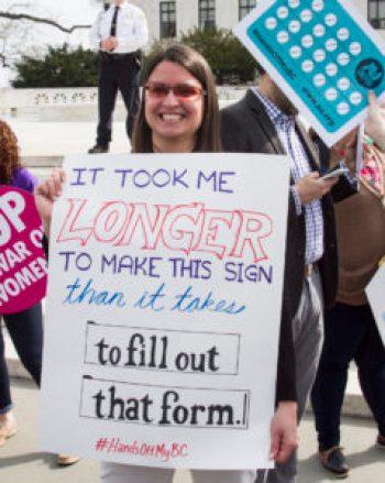 Photo: Supreme Court rally