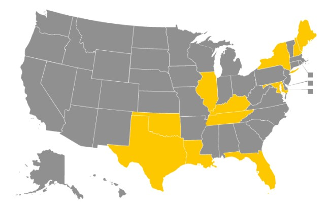 As of October 1, 2015, 11 states have enacted laws regulating mold remediation.