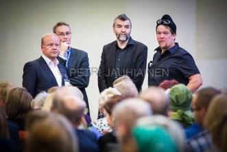 Helsingin kirjamessut valokuvaaja Petri Jauhiainen